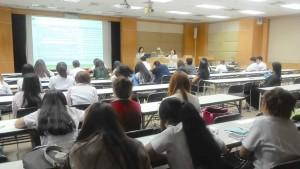 กิจกรรมการส่งเสริมการเรียนรู้สารสนเทศ ชั้นปีที่ 3 สาขาจุลชีววิทยาอุตสาหการ คณะวิทยาศาสตร์