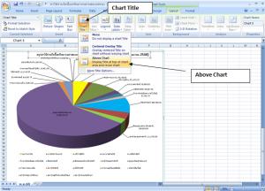 Chart Title (Above Chart)