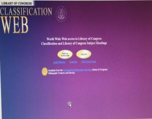 ภาพประกอบที่ 1 Classification Web